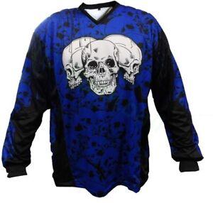 Fournisseur d'identités Jersey THE SKULLS Bleu PAINTBALL maillot-afficher le titre d`origine 0Z1d7IeL-07134913-404257645