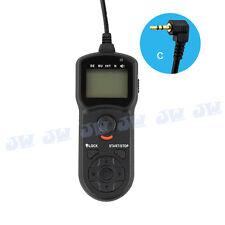 JJC Timer Remote Control For Pentax K-1 K-3 II K-50 645Z / Canon 1300D 760D 80D