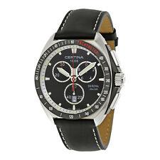 Certina DS Royal Chronograph Black Dial Mens Watch C0104171605102