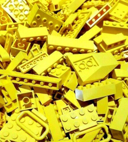 Genuine Lego Yellow Bundle 1kg  Mixed Bricks Pieces Bulk Joblot Starter Set