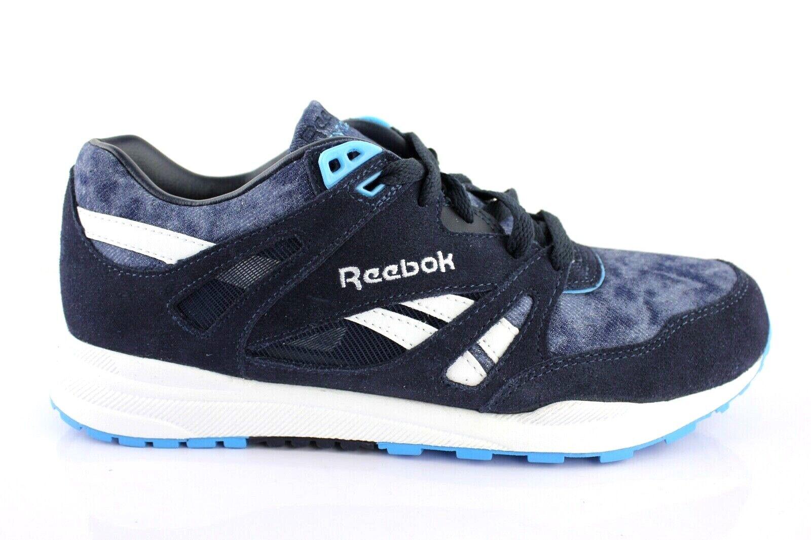 Reebok Flexalite Sneaker Low Lace up blueee Leather 39, 40.5