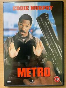 Metro-DVD-1996-Action-Comedy-Cop-Movie-with-Eddie-Murphy