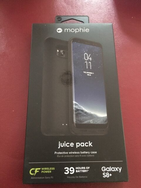 outlet store 047c2 d166f mophie Juice Pack Battery Case Samsung Galaxy S8 Plus