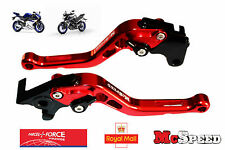 YAMAHA YZF R125  MT-125 2014-2017 Short Adjustable Brake & Clutch CNC Levers Red