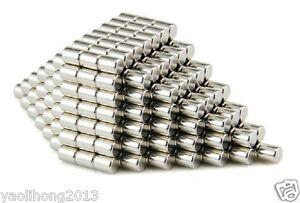 200pcs 2 X 3 mm Neodymium Disc Super Strong Rare Earth N50 Small Fridge Magnets