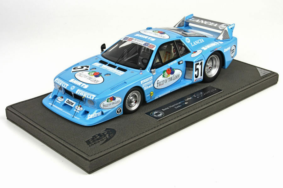 1980 Lancia Beta Montecarlo in 1 18 Scale by BBR Top Marques