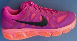 NEW NIKE WOMENS AIR MAX TAILWIND 7 SIZE 6.5 FUCHSIA HOT PINK AIRMAX