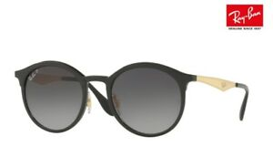 a9ad5a4aa New RAY-BAN Sunglasses EMMA RB4277 6306/T3 Black / Gold POLARISED ...