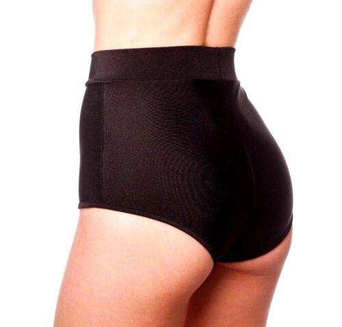 Fitness neri lacci a Festive vita dettaglio vita con e alta Palle Dancing Pantaloncini alta qYPEO