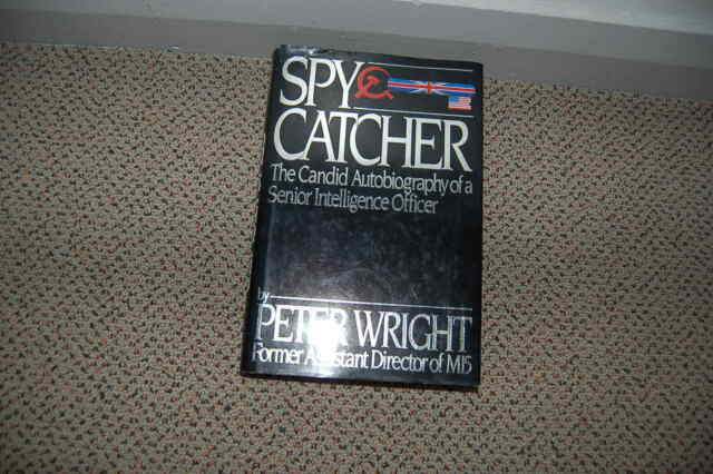 Spy Catcher about Peter Wright