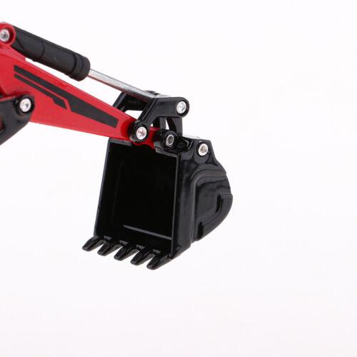1:87 Mini Diecast Alloy Auto LKW Bagger Modell Spielzeug Geburtstagsgeschenk