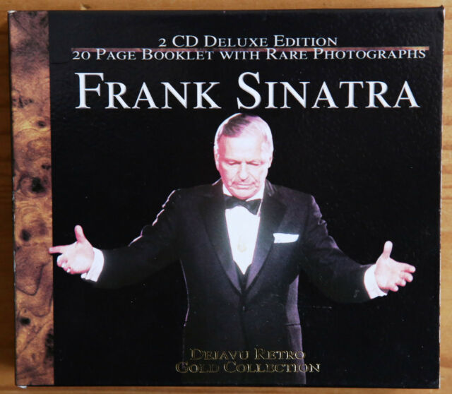 Frank Sinatra Gold Collection 2-CD Deluxe Edition with 20-page booklet