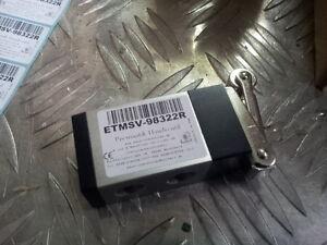 """Pneumatik Ventil 3/2  IG1/4"""" Rollenhebel Endschalter ETMSV-98322R"""