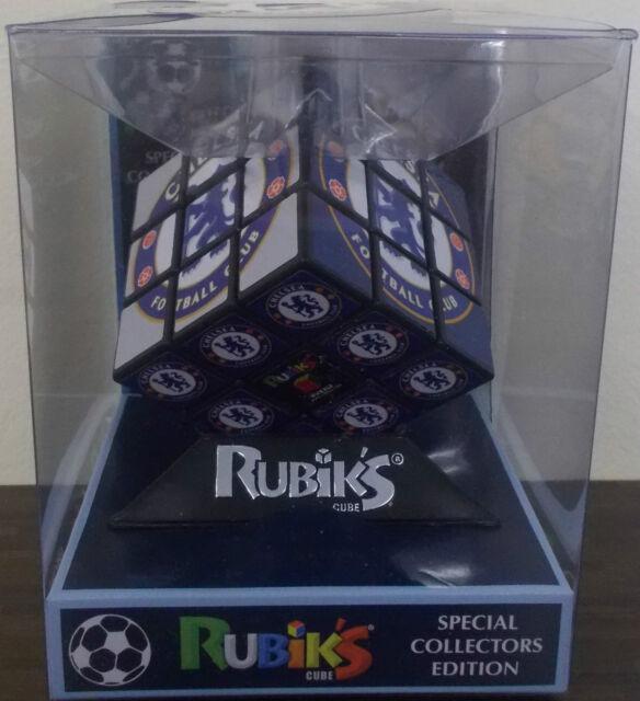 Chelsea FC ~ Rubik's Cube Puzzle ~ officiel Special Collectors Edition