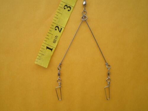 """FOLDING RING TESTED IN ALABAMA TX 2 ARMS .035X3/"""" 2 CRAPPIE,UMBRELLA,BASS RIG"""