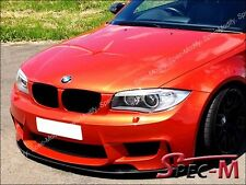 DP Style Carbon Fiber Front Lip Spoiler Fit For BMW E82 E88 128i 135i M Sports