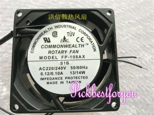 Commonwealth FP-108AX S1B cooling fan AC220V//240V 0.12//0.10A 80*80*25mm M223C QL