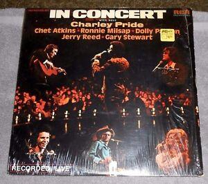 In-Concert-Double-LP-Album-w-Host-Charley-Pride-Vinyl-1975-RCA-Records