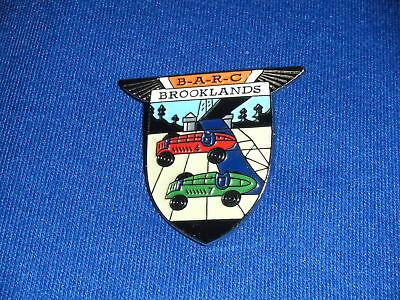 Brooklands Goodwood Badge Barc British Auto Racing Club Badge Hill Climb Special Badges & Mascots