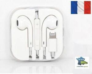 **Ecouteurs iPhone 7 7Plus 8 X avec micro fonction avec bluetouth Livraison 2J**