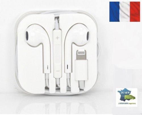 **Ecouteurs iPhone 7 7Plus 8 X avec micro fonction avec bluetouth Livraison 2J*