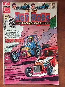 Hot Rods & Racing Cars # 114 Charlton Comic 1972 VG+