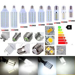 Prof-E27-E26-E14-E12-B22-G9-GU10-Ampoule-LED-SMD-Spot-Lamp-Blanc-Pure-CE-220V-NF