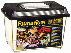 Exo Terra Faunarium Plastic Terrarium, Small