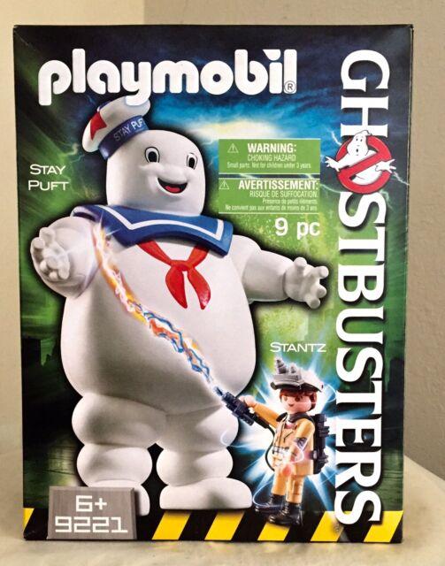 Playmobil Ghostbusters 9221 Stay Puft Marshmallow Man W/ Ray Stantz MIB/New