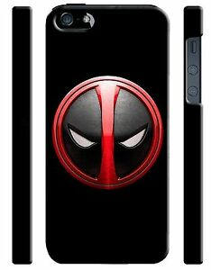Iphone-4s-5-5s-5c-6-6S-7-8-X-XS-Max-XR-Plus-Hard-Cover-Case-Deadpool-Logo-18