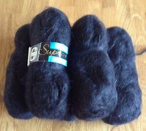 Sirdar Mohair DK Black Knitting Wool 5 Balls - <span itemprop=availableAtOrFrom>Burgh Le Marsh, Lincolnshire, United Kingdom</span> - Sirdar Mohair DK Black Knitting Wool 5 Balls - Burgh Le Marsh, Lincolnshire, United Kingdom