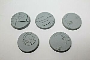 Resin-Scenic-Base-Imperial-Ruines-40mm-B235