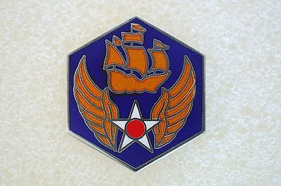 US USA USAF 6th Air Force Military Hat Lapel Pin