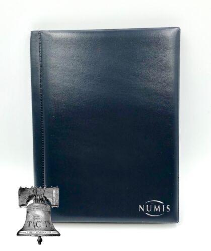 96 Pocket Coin Album Wallet Holder Lighthouse 8 Sheet Pages NUMIS Half Dollar