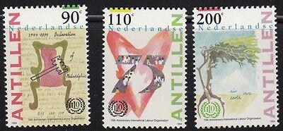 1994 Int Ohne RüCkgabe 19242 Gastfreundlich Niederl Antillen Arbeitsorganisation Iao 809-11 **,