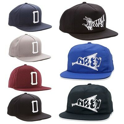 Obey Clothing Obey Posse Snapback-Nero//Rosso