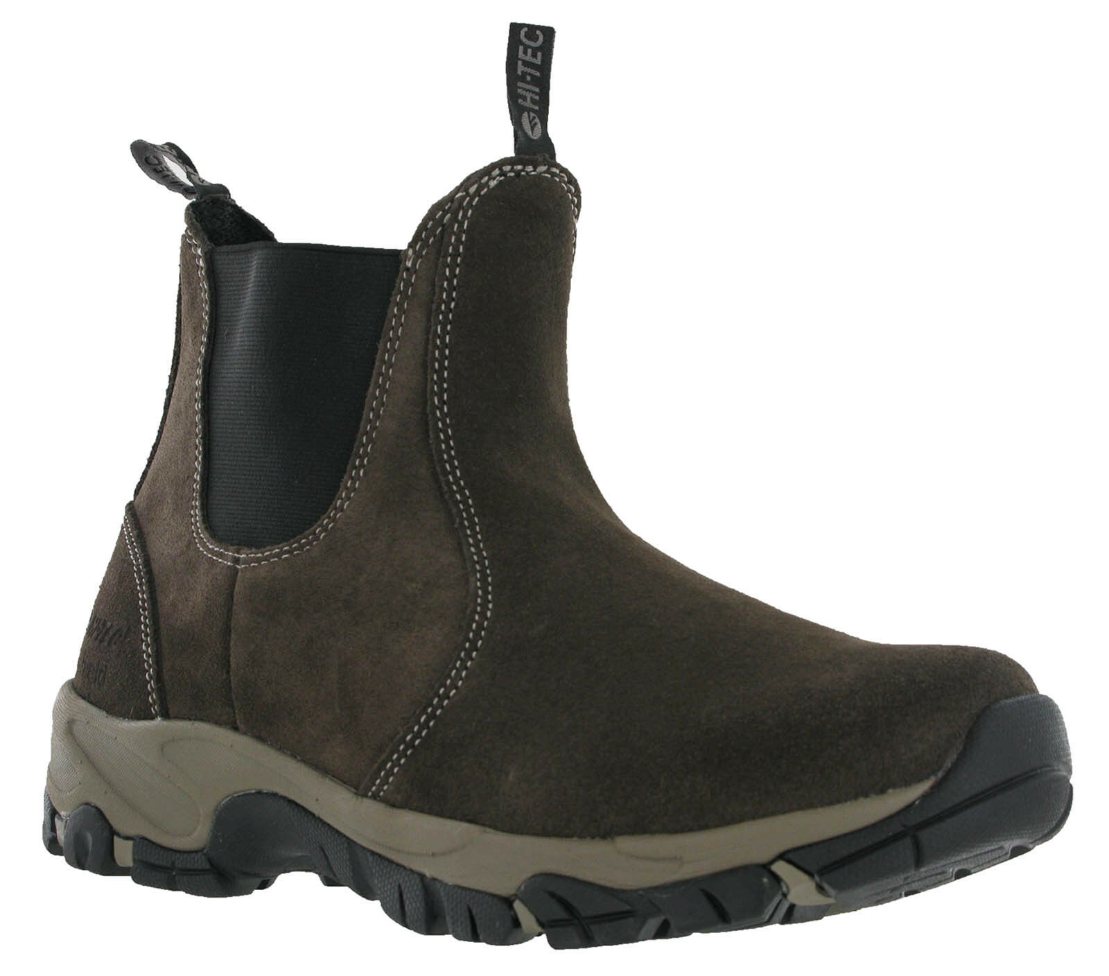 Hi-Tec Altitude Chelsea Lite Gamuza Ligero botas De Hombre Doble Fuelle Caminar