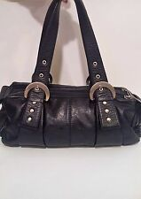 Cercla Purse / Satchel - Hecho en Columbia - Black Leather - Great Condition
