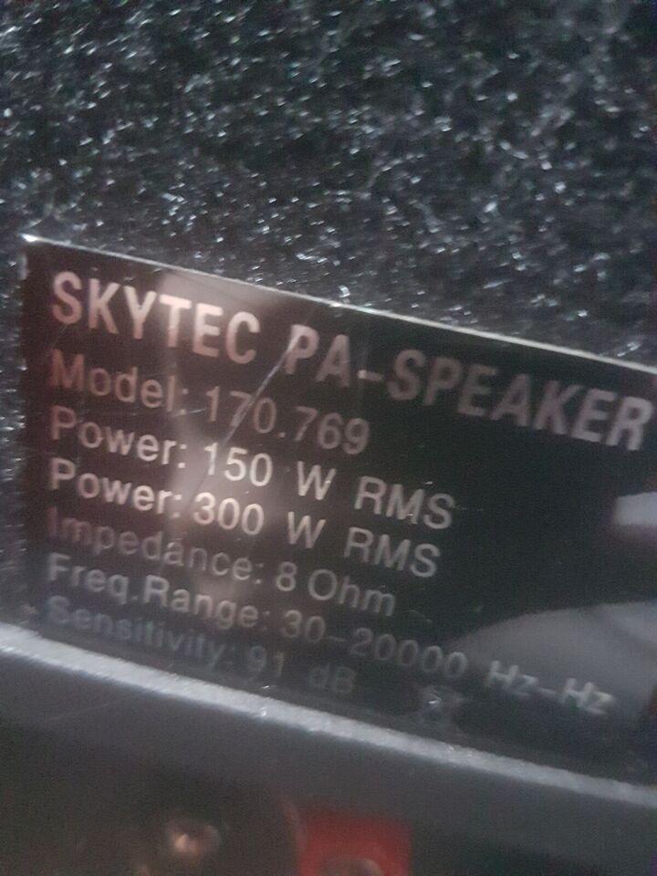 Højttaler, Skytec, 170.769