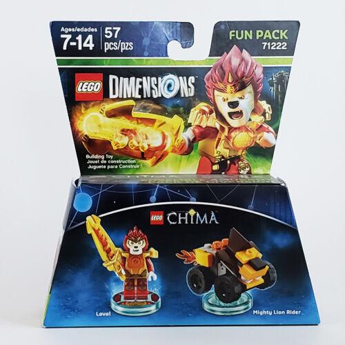 LAVAL FUN PACK w//MIGHTY LION RIDER #71222 NIB LEGO DIMENSIONS LEGENDS CHIMA