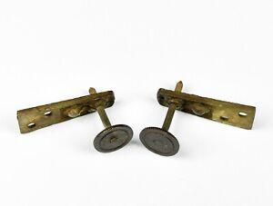 Paar-Abstandshalter-Schrauben-Uhr-Ersatzteil-Uhrwerk-Wanduhr-Regulator-clock