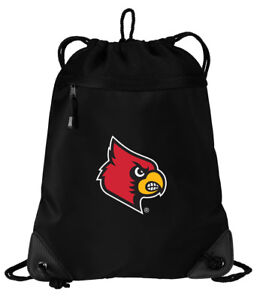 fb6abc52 Details about Louisville Cardinals Drawstring Bag BEST UofL Backpacks MESH  & MICROFIBER