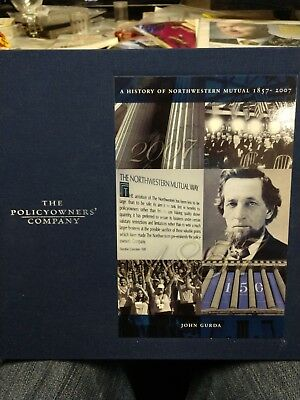 New Fashion The Policyowners' Company A History Of Northwestern Mutual 1857-2007 John Gurda Elegant And Graceful Collectibles