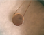 thumbnail 4 - Rare Tiffany & Co 1837 Round Concave Slide Pendant Sterling Silver Retired