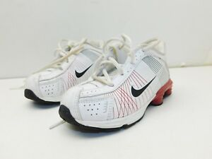 4b7995818d Nike Air Max 95 (TD) Little Max Kids Size 9C White, Red, & Black | eBay