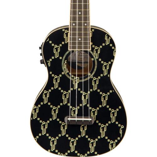 Black blohsh Fender Billie Eilish Ukulele Walnut Fingerboard NEW