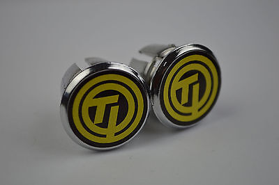 Campagnolo Handlebar End Plugs Bar Caps lenkerstopfen bouchons silver NOS style