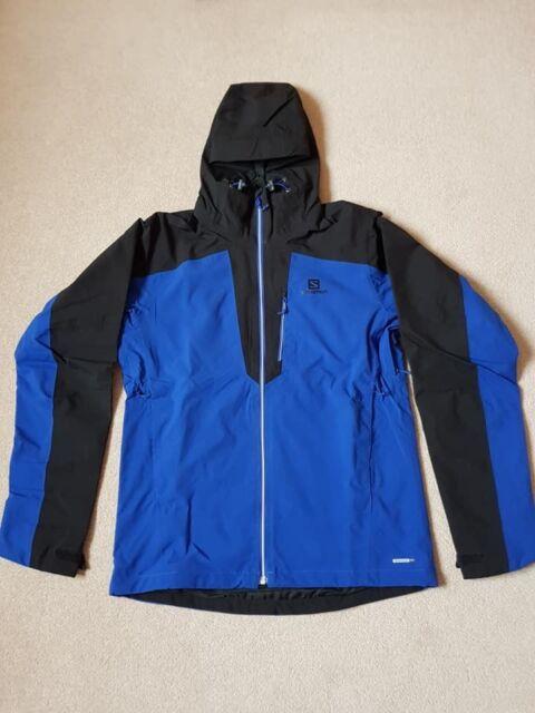 paras online rajoitettu guantity hienoin valinta BNWT Salomon La Cote 2L Men's Blue Winter Jacket Size S RRP £175