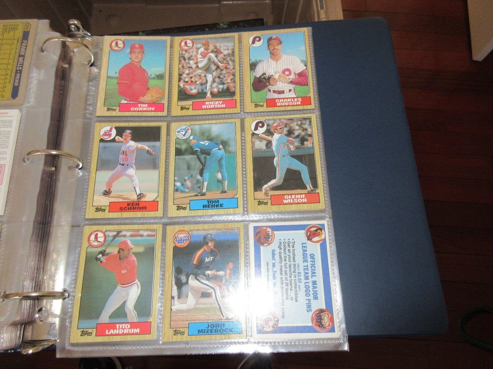 Topps , 1987 , Baseball Cards , Lot of 50 Cards