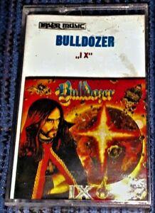 Bulldozer-IX-VG-Cassette-Tape-Laser-Plays-Well-Rare-Raw-Thrash-Black-Metal